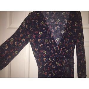 Flowery American Eagle Outfitter Romper